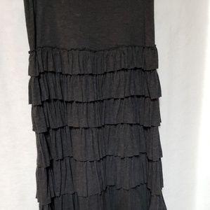 Max Studio Dresses Black White Striped Trim Ottoman Dress Women S